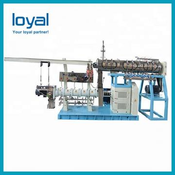 Auto fish feed machine aquafeed extruder catfish feed pellet processing line