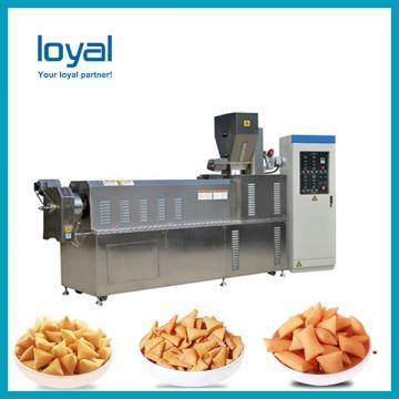 Automatic 3d & 2d Snack Crispy Chips/screw/shell/extruded Pellet Machine/fried Pellets Make