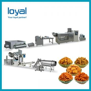 Sweet crispy wheat flour snacks extruding twisted food making machine fried dough twist machine