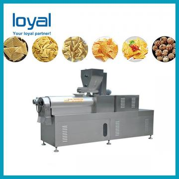 Continuous wheaten chips/corn chips bugles snack food process line