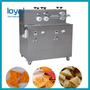 Fried wheat flour salad bugles corn chip snack making machinery process line