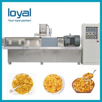 Breakfast Corn Flakes Snacks Frying Machine , Snack Food Processing Equipment