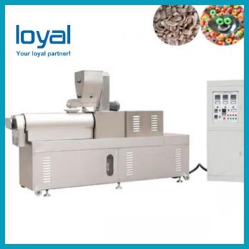 Corn Snack Food Pellet Making Extruder Machine / Corn Flakes Food Machinery