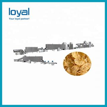 Automatic Snack Machine Food Pellet Extrusion Plant Breakfast Cereal Processing Line