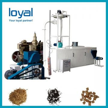 Fish feed food aquafeed extruder pellet making machine processing line