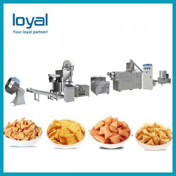 High Capacity Screw,Shell extruded fried snacks making machine/food extruders for sale