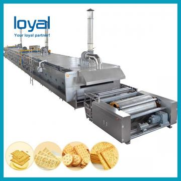 Biscuit manufacturing process Production Line Cookies Making machinery