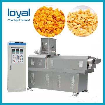 Fried Bugle snack food making machine pellet Corn chip processing line