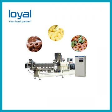 Breakfast Corn Flakes Snacks Frying Machine , Snack Food Processing Equipment