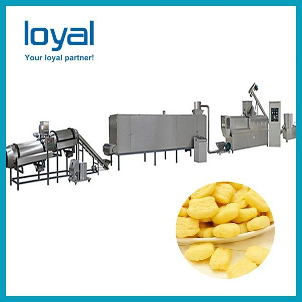 Corn flakes machine maize chips snack cereal breakfast processing plant #2 image