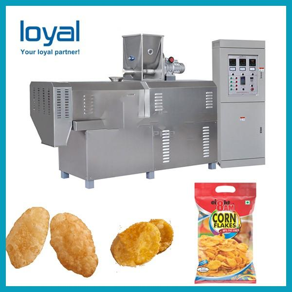 Corn flakes machine maize chips snack cereal breakfast processing plant #1 image