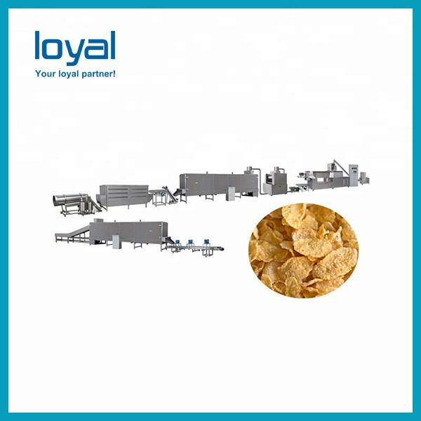 Corn flakes machine maize chips snack cereal breakfast processing plant #3 image