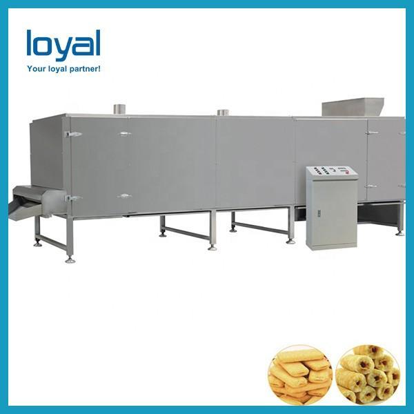 Sweet corn snack twin screw extruder puffed food snacks machine for making puff rice #1 image