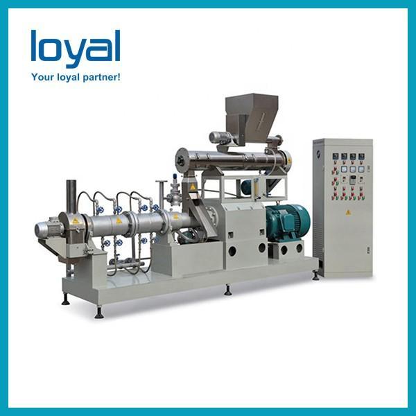 Auto fish feed machine aquafeed extruder catfish feed pellet processing line #2 image