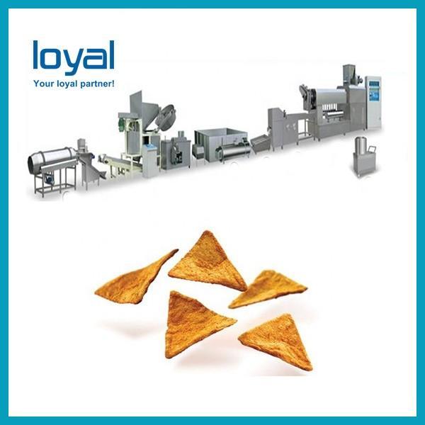 3D Papad pellet shell slanty snacks food making extruder machine price made in China #2 image