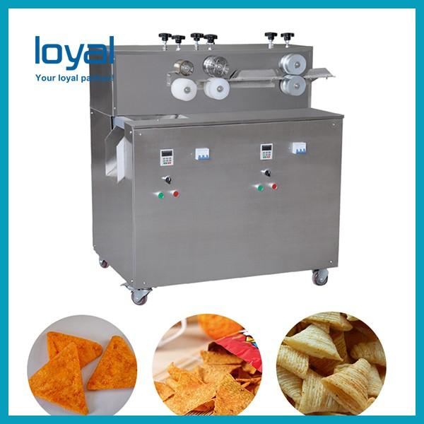 High Quality and Industrial Fried Wheat Flour Bugles Snacks Corn Chips Processing Line for Sale #1 image